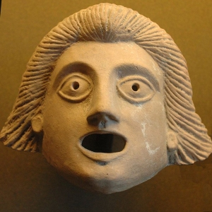 1st Century theatrical mask
