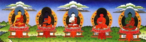 five_dhayani_buddhas2