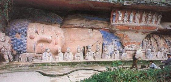 Dazu-Sleeping-Buddha